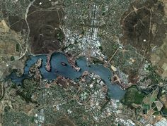 Strange, Beautiful and Unexpected: Planned Cities Seen From Space
