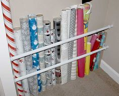 baras extensibles para guardar papeles, paraguas...