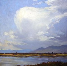 Bruce Park Arts, oil and chalk pastel paintings of the Northern Rocky Mountains   Landscape and Animal Paintings of the Northern Rocky Mountains