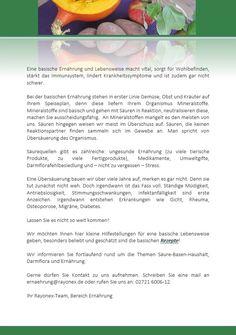 Basisch Leben | RAYONEX Biomedical GmbH
