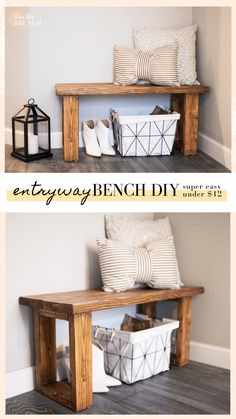 entryway ideas small - entryway ideas + entryway ideas with bench + entryway ideas small + entryway ideas modern + entryway ideas with stairs + entryway ideas small apartment + entryway ideas small entrance + entryway ideas with bench modern Diy Furniture Projects, Furniture Makeover, Home Projects, Diy Living Room Furniture, Diy Entryway Furniture, Diy Bedroom Projects, Best Diy Projects, Diy Interior Furniture, Furniture Quotes