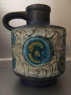 Keramik Vase Carstens Tönnieshof Modell 1531 - 20 WGP Vintage 60er 70er Pottery