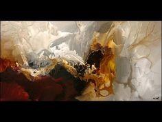 best abstract painting 2015 - peindre un abstrait -la peinture abstraite - YouTube