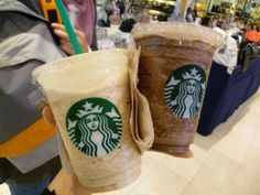 The weather has been so nice thats its just about time to start drinking those Hazelnut Frappes from starbucks!