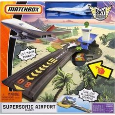 Matchbox Sky Busters Supersonic Airport Playset