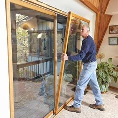 Stop patio door drafts!