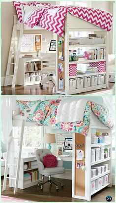 Beautiful Teen Bedroom Loft