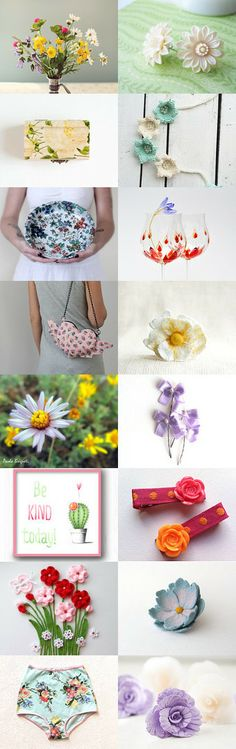 Summer flowers by Lesya on Etsy