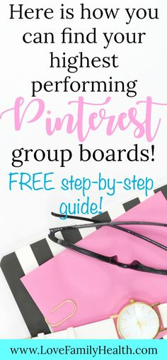 Here is how you can find your highest performing Pinterest Group Boards! #blogging #pinterest