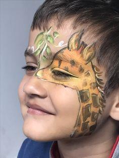 Giraffe face makeup