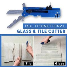 Get OFF Today!Multifunction Glass & Tile Cutter OFF Today!Multifunction Glass & Tile Cutter& The post Get OFF Today!Multifunction Glass & Tile Cutter appeared first on Leanna Toothaker. Glass Cutters, Tile Cutter, Ideal Tools, Cool Tools, Saw Wood, Diy Home Repair, Utility Knife, Knife Sharpening, Cleaning Hacks
