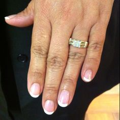 Shellac in Negligee tipped in French White