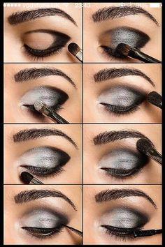 Perfect Eyes In A Few Steps!😮 Beauty Make-up, Beauty Secrets, Beauty Hacks, Beauty Tips, Fashion Beauty, Hair Beauty, Beauty Care, Natural Beauty, Beauty Skin