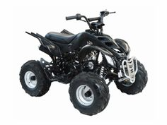 "Regency Mountain Cat 110-S Sport ATV - 110cc Quad! with Oversize 7"" Wheels!"