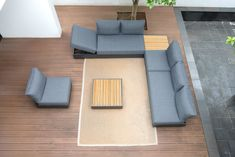 Cubo Lounge Outdoor Furniture, Outdoor Decor, Aluminium, Floor Chair, Dark Grey, Design, Home Decor, Lounges, Products