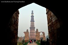 Qutub Minar was damaged several times by earth quakes and lightning but It was repaired almost every time by the rulers. #QutubMinar #TouringTravellers