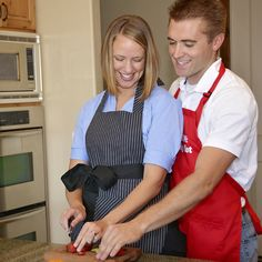 Have a fun date night (in) and make a great meal and settle in with a classic film.  Don't forget to wear your Flirty Aprons!  Use coupon code EVERYTHING35 for 35% off you entire order!