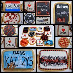 Cupcake Adventures: Supernatural Cookies