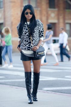 Petite fashion bloggers :: Walk in Wonderland :: Animal Instinct