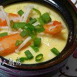 電鍋香菇蒸蛋(輕鬆快速上菜)食譜、作法 | 小茹的輕鬆美味料理的多多開伙食譜分享