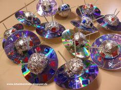 Außerirdisch gute Ideen für euer Weltraumprojekt findet ihr hier!   Das UFO   Ein Weltraumprojekt ohne UFOs ist undenkbar. Das Tolle ist, m...