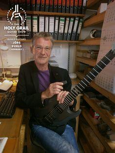 Exhibitor at The Holy Grail Guitar Show 2014: Jörg Kuhlo, Kuhlo Guitars, Germany http://www.kuhloguitars.de https://www.facebook.com/kuhloguitars http://holygrailguitarshow.com