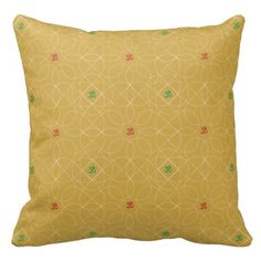 Customizable Background with Infiniti Om Throw Pillows