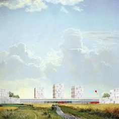 """Student Works: """"Townization"""", a new Chinese urbanization paradigm from the GSD   Features   Archinect"""