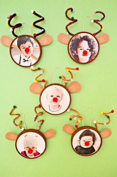 RUDOLPH REINDEER PHOTO ORNAMENT Hello Wonderful delivers online tools that help you to stay in control of your personal information and protect your online privacy. Kids Crafts, Daycare Crafts, Classroom Crafts, Preschool Crafts, Party Crafts, Christmas Art, Winter Christmas, Rudolph Christmas, Photo Christmas Ornaments