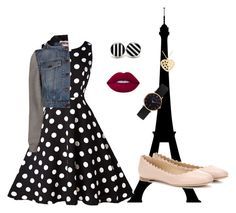 """""""Paris"""" by kya-francois ❤ liked on Polyvore featuring Moschino, Chloé, Abbott Lyon, NOVICA and Lime Crime"""