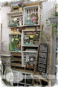 Backroads and Blooms- March at Sweet Salvage