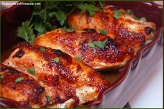 MAPLE SYRUP CHICKEN!!!!!!!!!!!!!!!! OMG!!! - Hugs and Cookies XOXO