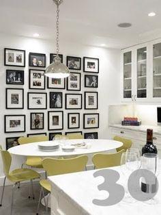 Muurdecoratie inspiratie on Pinterest  Diy Wall, Collage and Silver ...