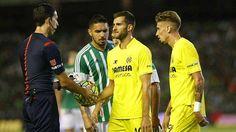 Juan Vargas: Real Betis empató 1-1 con Villarreal por Liga BBVA. August 23, 2015.