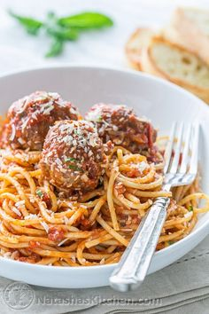 Best Spaghetti And Meatball Recipe In The World.Spaghetti And Easy Meatballs Recipe MyRecipes. The Secrets Of The Juiciest Most Tender And Flavorful . Pasta With Meatballs Recipe NYT Cooking. Spagetti And Meatball Recipe, Italian Spaghetti And Meatballs, Meatball Recipes, Beef Recipes, Italian Recipes, Cooking Recipes, Meatball Subs, Mince Recipes, French Recipes