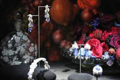 "Jewel creations are shown during the new High Jewellery Collection ""Sortilege de Cartier"" launch at Villa Aurelia on September 17, 2011 in R..."