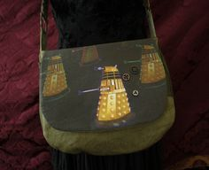 $72.00 Dalek Handbag Handmade - RaggedyFan.com
