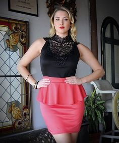 168f6931960 50 best Chic Plus Size Dresses   Skirts images on Pinterest