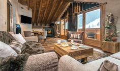 Chambres et suites 5 étoiles à Méribel - Hôtel Le Kaïla en Savoie #Chalet #Alpes #Luxe