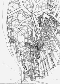 Landed, 10 / the architecture draftsman - Stefan Davidovici