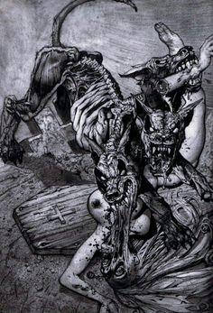 dark humor horror art on pinterest zombies horror and grim reaper. Black Bedroom Furniture Sets. Home Design Ideas