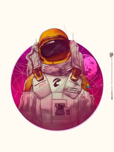 I need more space Astronaut Illustration, Space Illustration, Illustrations, Space Drawings, Pop Art Wallpaper, Astronauts In Space, Major Tom, Alien Art, Dope Art
