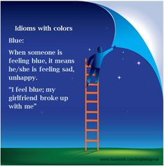 Idioms with 'Colour'.