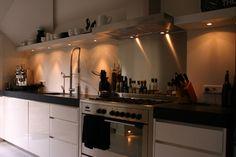 Keuken woonhuis Laren - door David Interieurbouw ism Clairz Interior