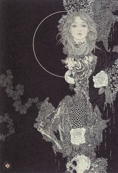 Yamato Takato - Secret Traces of Night #drawing #illustration #dark