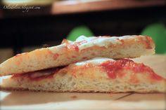 Olio d'Oliva...: Pizza nuvola in teglia con licolì