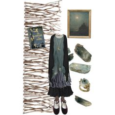 Driftwood Fairy by zitahawthorne on Polyvore featuring Valentino, Calypso St. Barth, Marc Jacobs, DailyLook, HARRISON, stregafashion and strega