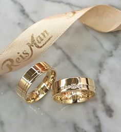 Alianças João Pessoa ♥ Casamento e Noivado em Ouro 18K