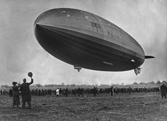 The #Hindenburg took its first flight 80 years ago today. See more photos and find out what happened just 14 months later on ABCNews.com. Pictured: Crowds watch the Hindenburg airship making its first test flight from the Zeppelin dockyards at #Friedrichshafen, #Germany, March 4, 1936. The name of the #ship has yet to be painted on the hull. CREDIT: Getty Images #abcnews