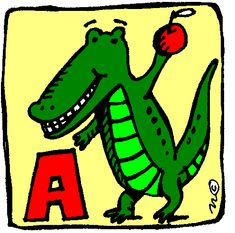 Creative and Curious Kids!: Aa is for.... Letter of the week activity